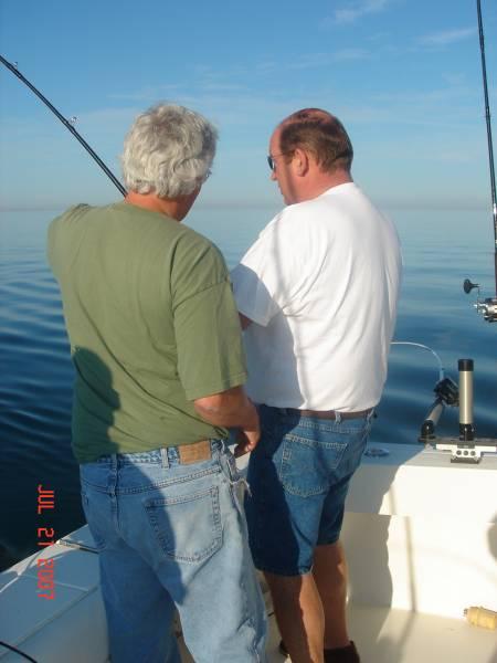John & Gary Fishing